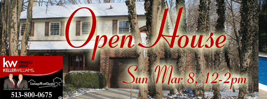 Real Estate Open House westchester OH 45036